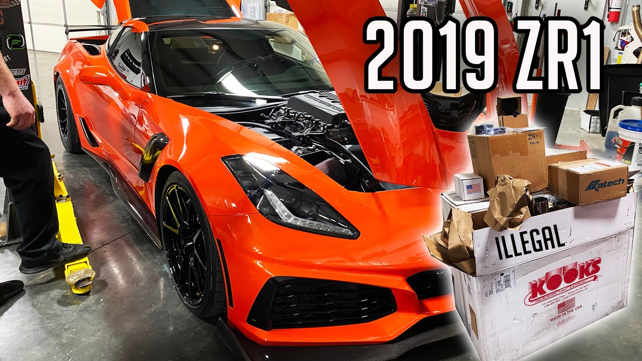 Modding an LT5 C7 ZR1! This is EASY!