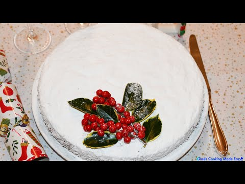 Vassilopita - Perfect New Years' Cake (St. Basil's cake)