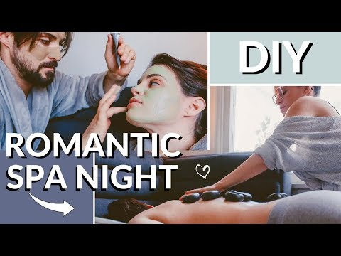 DIY Romantic Spa Night At Home | Affordable Date Night Ideas