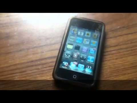 iPod touch 2G giveaway winner