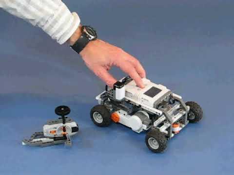 HiTechnic IR RC Car