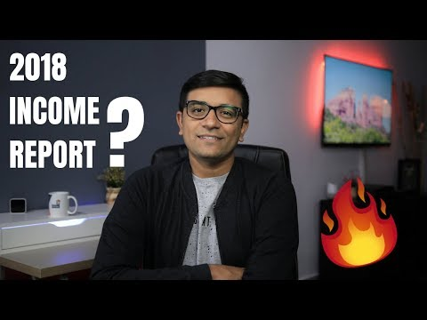 Rs 3,20,90,500 - My 2018 Income Report