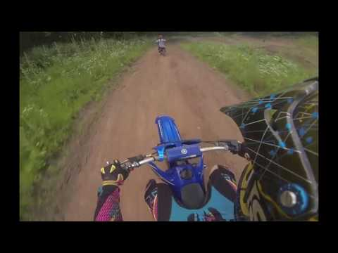 Brian Jestrab and John Busch Track work and Riding