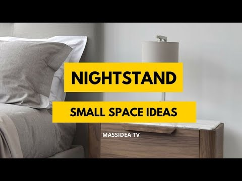45+ Dreamy Small Space Nightstand Ideas from Pinterest