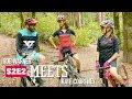 Rob meets mountain biker Kate Courtney.