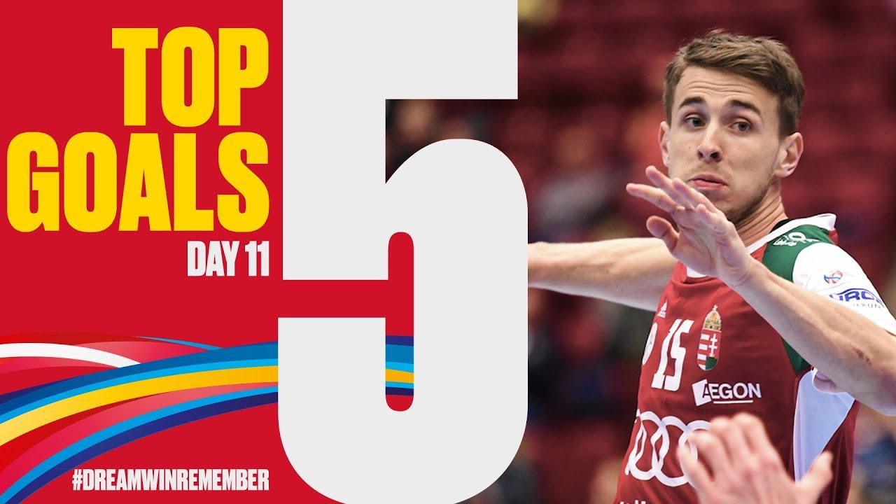 Top 5 Goals | Day 11 | Men's EHF EURO 2020