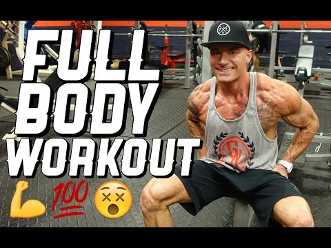 Full Body Workout Routine | The BEST Pump I've Ever Had