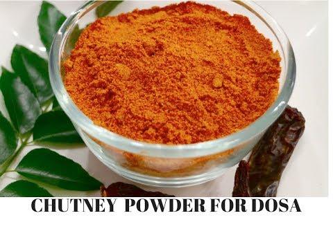 Chutney Powder for Idli/Dosa recipe | How to make Gun powder (Molagapudi) recipe  -Curry for theSoul