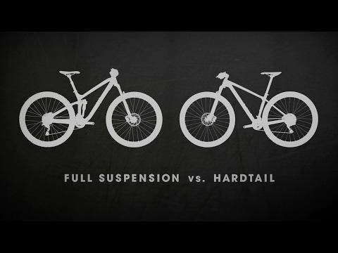Mountain Bikes: Full Suspension vs. Hardtail