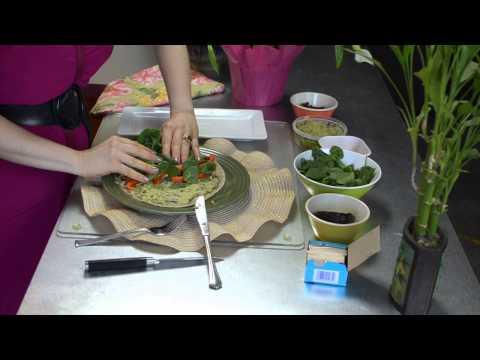 Vegan Pinwheel Sandwiches : Fruit & Vegetable Dishes