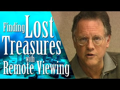 Finding Lost Treasures with Remote Viewing