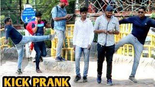 Kick Prank On People || Pune || Funny Pranks || Pune