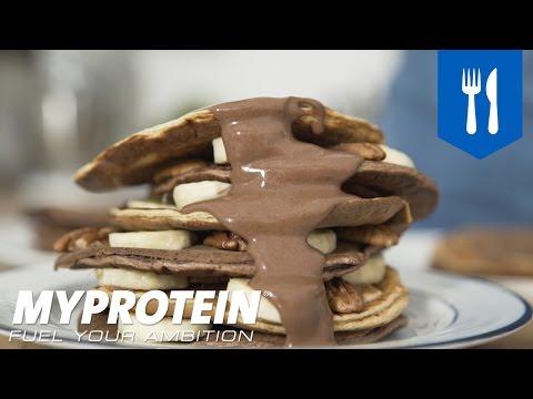 Banana Pecan Protein Pancakes Recipe | Myprotein.com