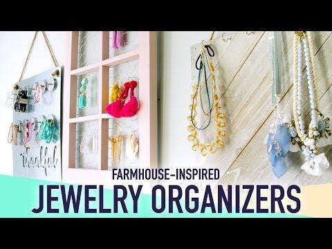 3 DIY Farmhouse-Inspired Jewelry Organizers - HGTV Handmade