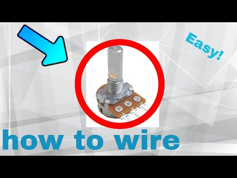 5 How to wire a potentiometer (Step By Step)