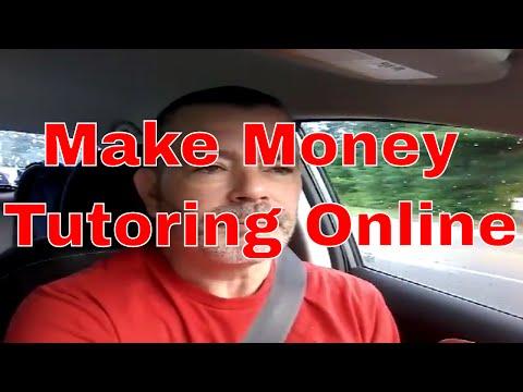 Make Money Tutoring Online, online tutoring jobs
