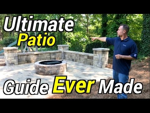 How to Build a Patio - Ultimate DIY Installation Guide (EVER MADE) for patio, driveway or decks