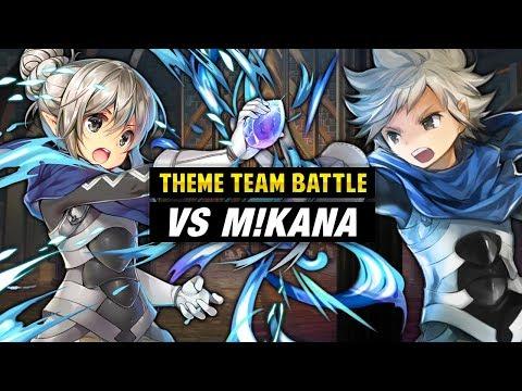 INFERNAL M!Kana Vs. F!Kana & Hoshido Kids - Fire Emblem Heroes Theme Team Battle