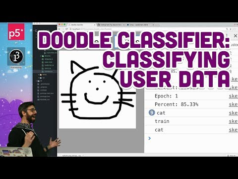 5.6: Doodle Classifier: Classifying User Data - Intelligence and Learning