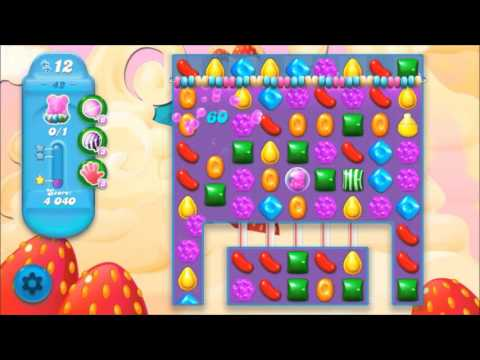 Candy Crush Soda Level 42 *Get the bear above the candy string*