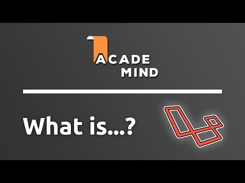 What is Laravel - academind.com Snippet