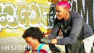 Woman Offers Makeovers To Homeless People On Skid Row