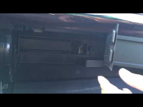 2012 Toyota Camry SE - Cabin Air Filter Replacement