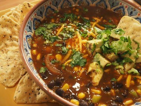 Black Bean Soup| Vegan Gluten-free| AUMcuisine