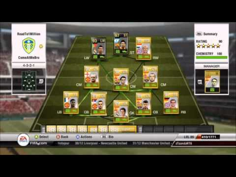How To Make 100,000 COINS PER MINUTE FIFA 14 Ultimate Team Web APP!