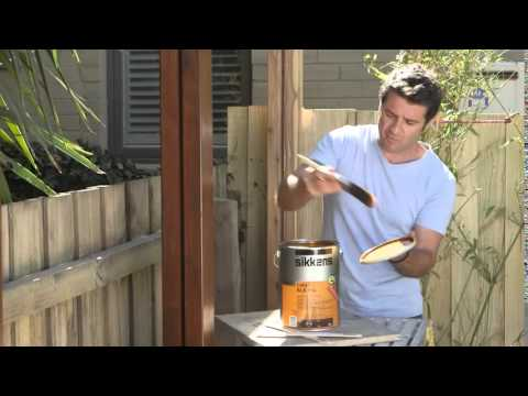 The Home Team - Coating Pool Deck Posts - How To