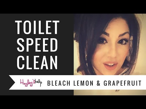 Toilet Speed Clean, My Methods | How To Clean Your Toilet