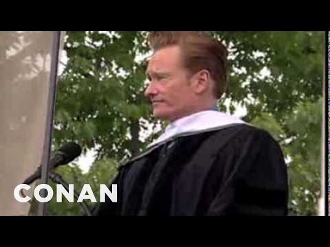 Conan O'Brien's 2011 Dartmouth College Commencement Address