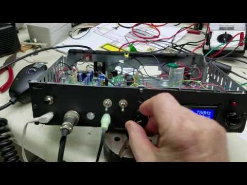 BITX40 in operation arduino dds vfo