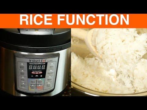 Instant Pot Mini Rice Function