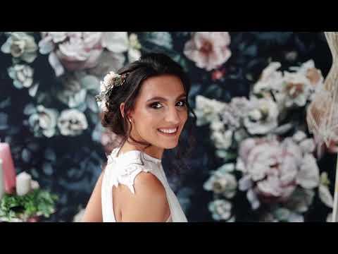 Magaela half wreath wedding tutorial