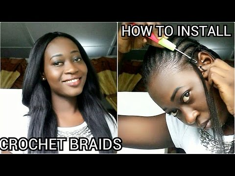 Protective Style | Natural Looking Crochet Braids With Outre Braiding Hair