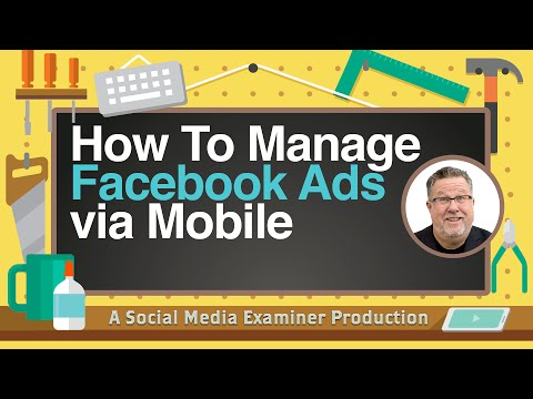 How to Manage Your Facebook Ads via Mobile