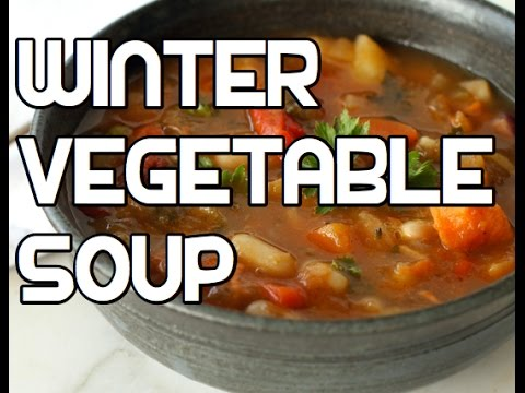 Winter Vegetable Soup Recipe - Root Veg Healthy
