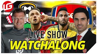 SOUTHAMPTON VS ARSENAL LIVE WATCHALONG WITH @Gooner Eagle Eye