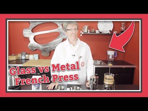 Glass Or Metal? French Press Taste Test | Latte Lab