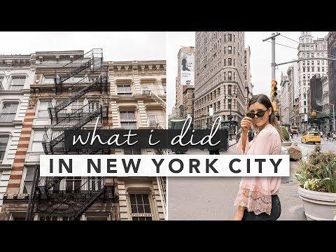 New York City! What I Did on My Mini Trip   by Erin Elizabeth