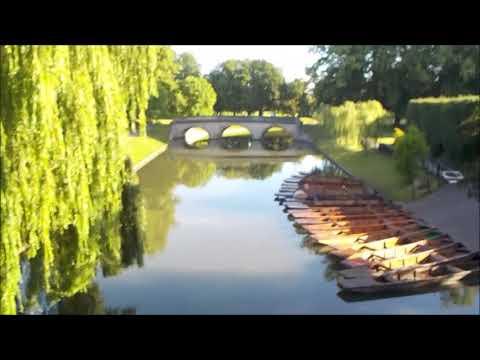 The Backs, Cambridge University Campus, Cambridge, Cambridgeshire, England, United Kingdom