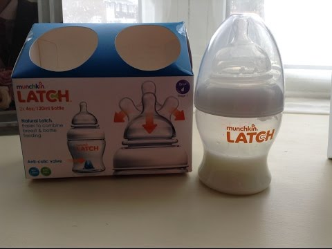 Munchkin latch - the perfect bottle for breastfed babies review!