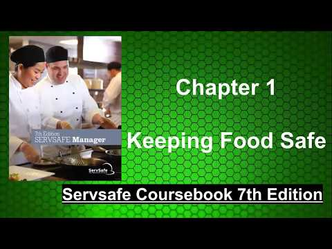Chapter 1 of ServSafe Coursebook 7th Edition