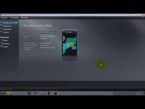 como actualizar el software de un blackberry