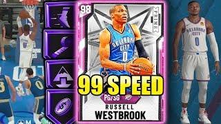 PINK DIAMOND RUSSELL WESTBROOK IS TOO FAST 99 SPEED NBA 2K20 MyTeam Gameplay