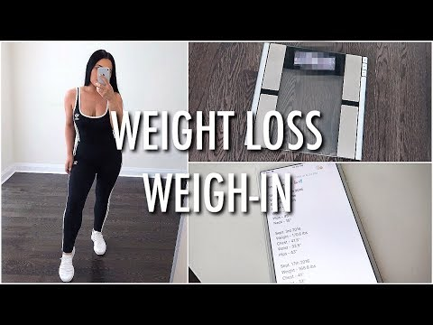 WEIGHT LOSS UPDATE + WEIGH IN
