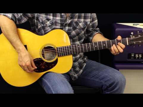Acoustic Guitar Lesson - Strumming And Picking Techniques - EASY - Beginner