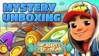 💰 Subway Surfers Mystery Unboxing - Opening Mystery Boxes in Venice Beach