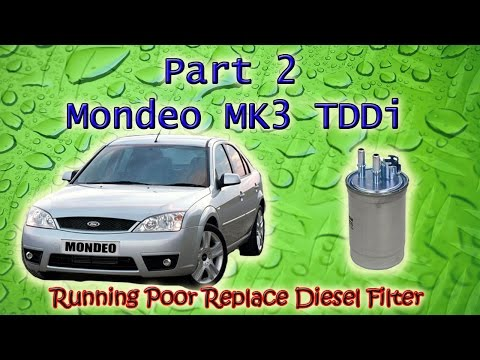 Part 2 Ford Mondeo Mk3 Tddi Running Rough Diagnosing Causes Diesel Filter  And Replace Turbo Hose